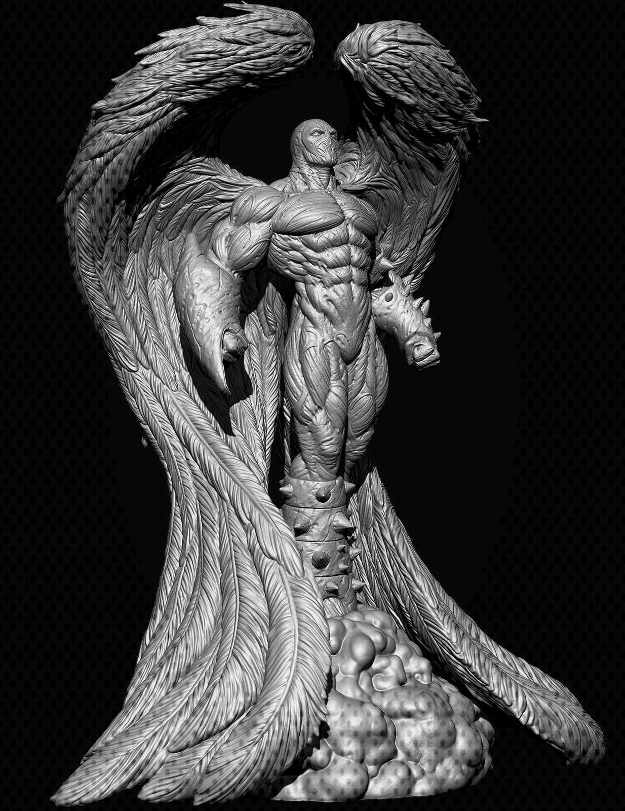 Angel Spawn  Zbrush details Miguel Hernandez Urbina  You can find Zbrush and more on our websiteAngel Spawn  Zbrush details Miguel Hernandez Urbina