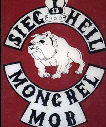 Destroyed A Mongrel Mob Member Mongrel Gang Art Mob