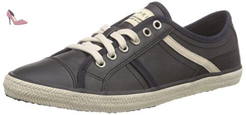 Sita Lace Up, Sneakers Basses Femme, Gris (Light Grey), 37 EUEsprit