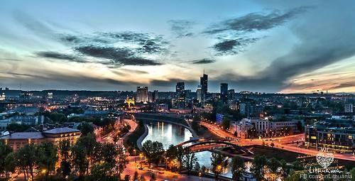 Golden Hour in Vilnius