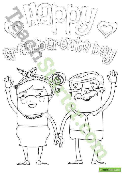 Happy Grandparents Day Art Activity Teaching Resource