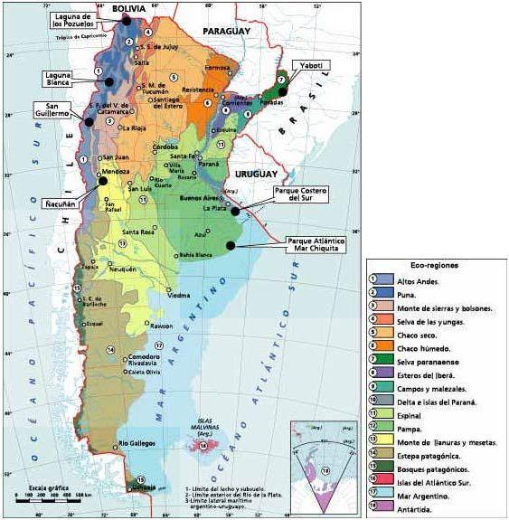 lugares en argentina de salinizacion