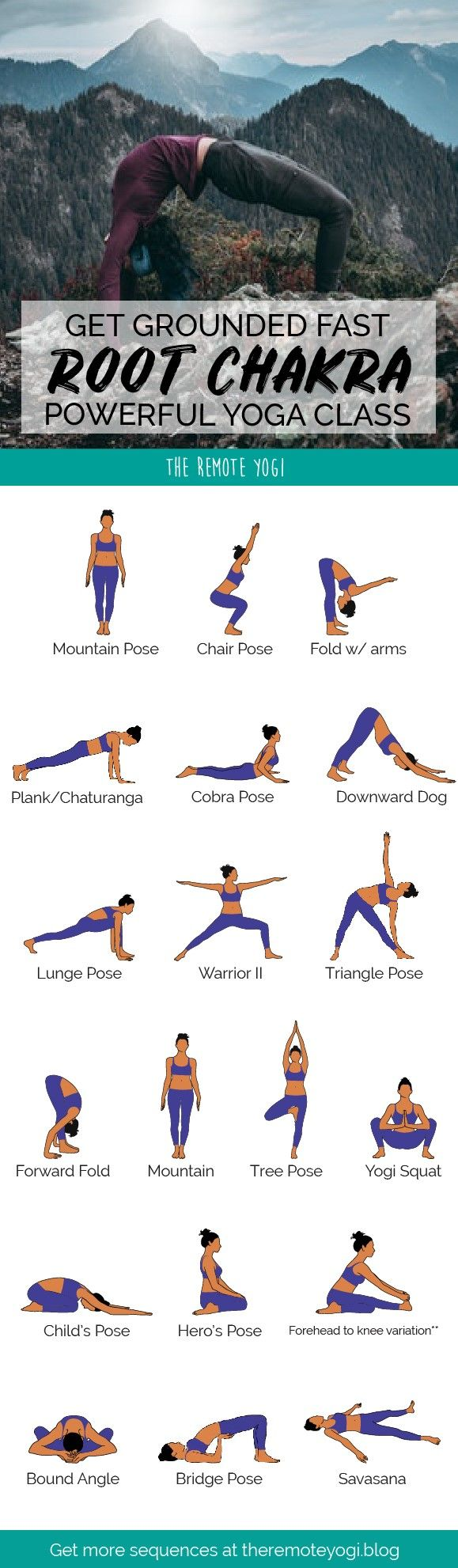 Yoga Poses For Grounding