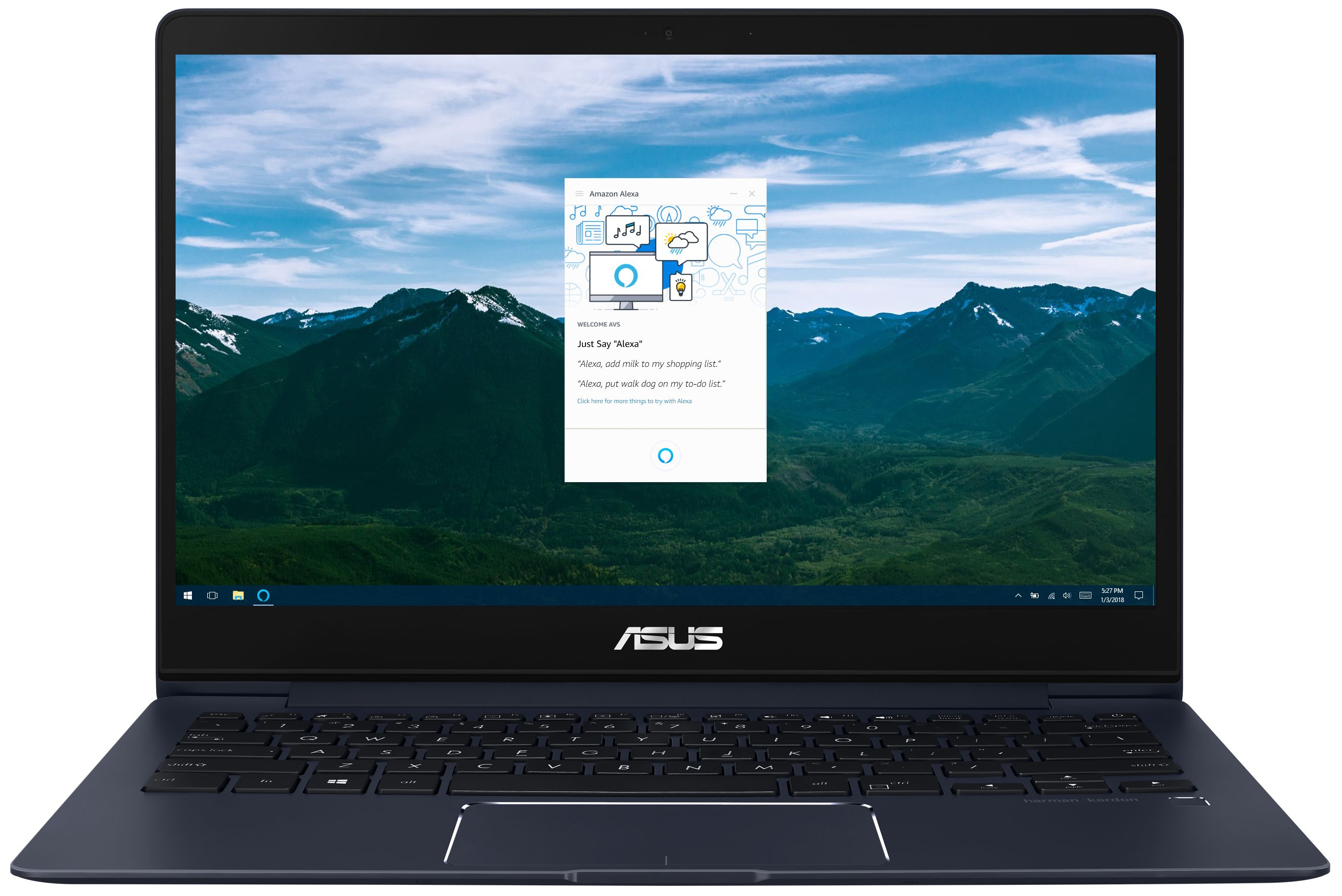 Amazon Alexa Coming To Future ASUS Laptops CES 2018