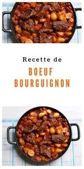 Photo of Bourguignon beef recipe-Recipe: Beef Bourguignon Beef Bur …..