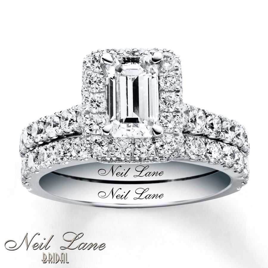 Trendy Neil Lane Bridal Set ct tw Diamonds White Gold Absolutely in love with this ring