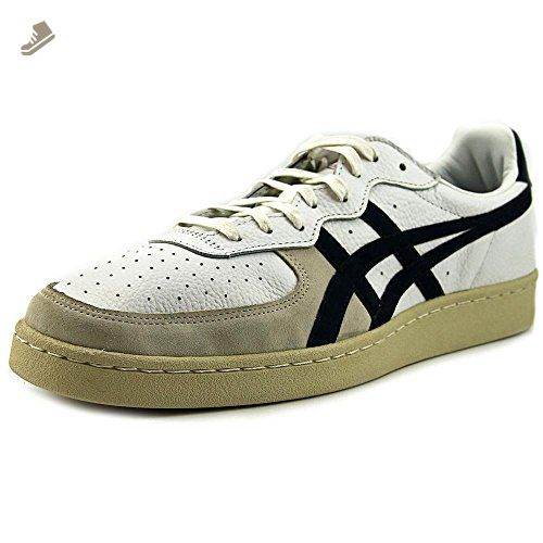 Onitsuka Tiger GSM Fashion Sneaker, White/Navy, (Womens 13.5 ...