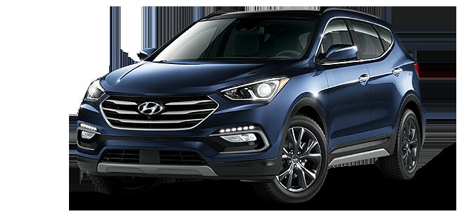 The 2017 Hyundai Santa Fe Sport