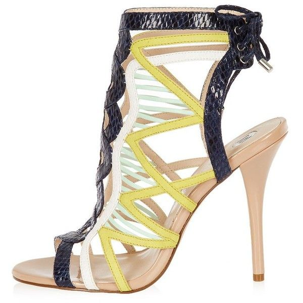River Island High heels - yellow JSYonzlTiN