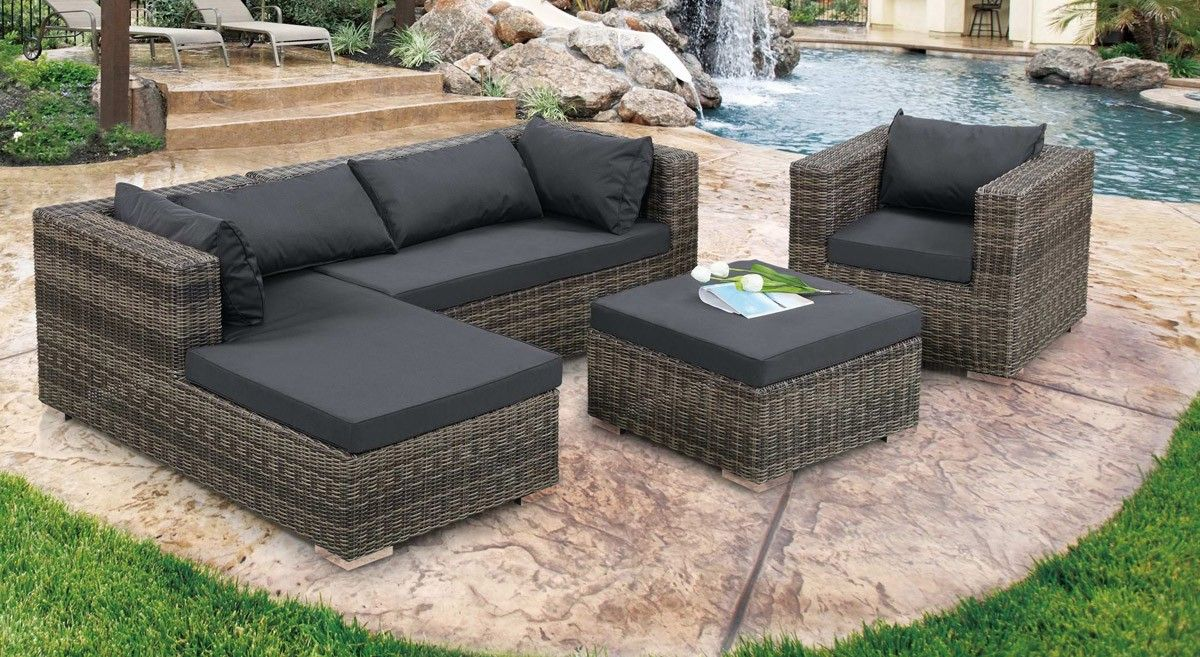Kokomo Modern Outdoor Sofa Set