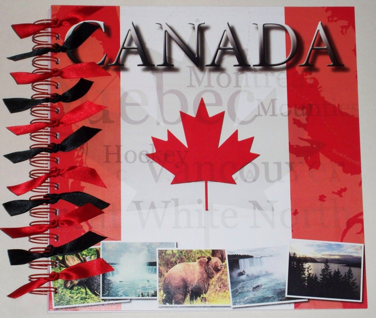 How to scrapbook memories - Scrapbook My Memories 12x12 Canada Holiday Travel Personalised Scrapbook Memory Book Photo