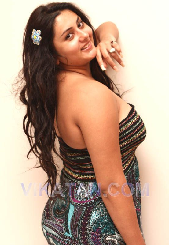 without Namitha dress mom photo fat