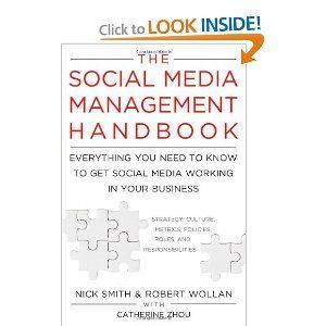 the social media management h andbook smith nick wollan robert zhou catherine