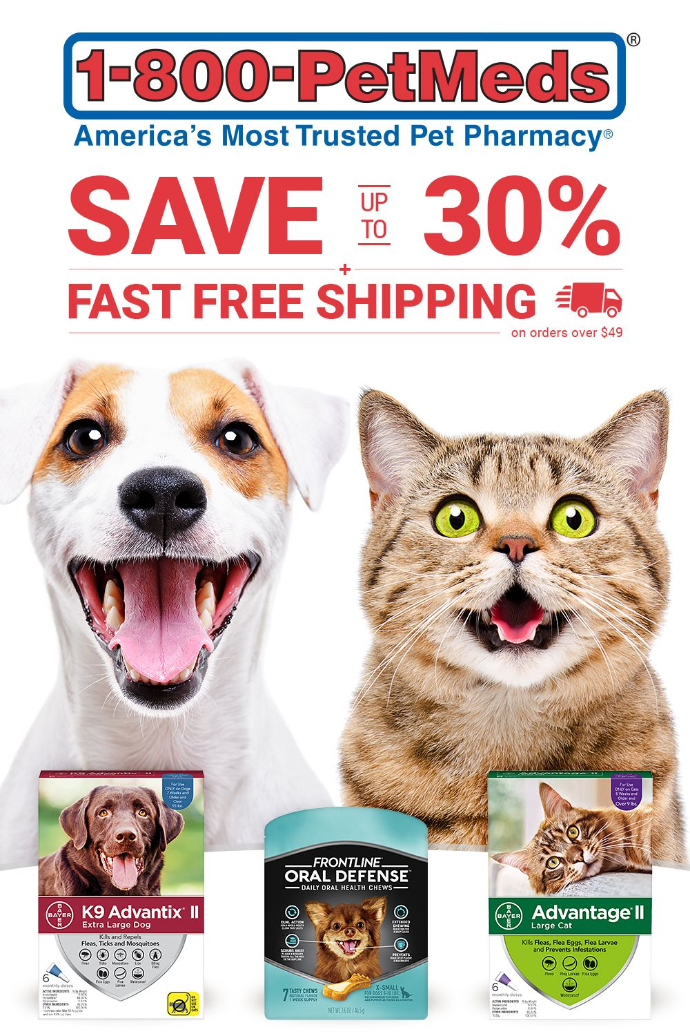 Get The Same Medications As The Vet For Less From Trusted Pet Medication Experts Get A Free Treat With Every Order And Fast Fre Pet Medications Cat Fleas Pets