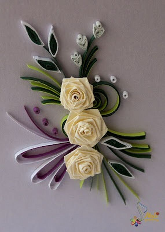 Quilled Valentines Day Craft Projects And Ideas Quilling Craft