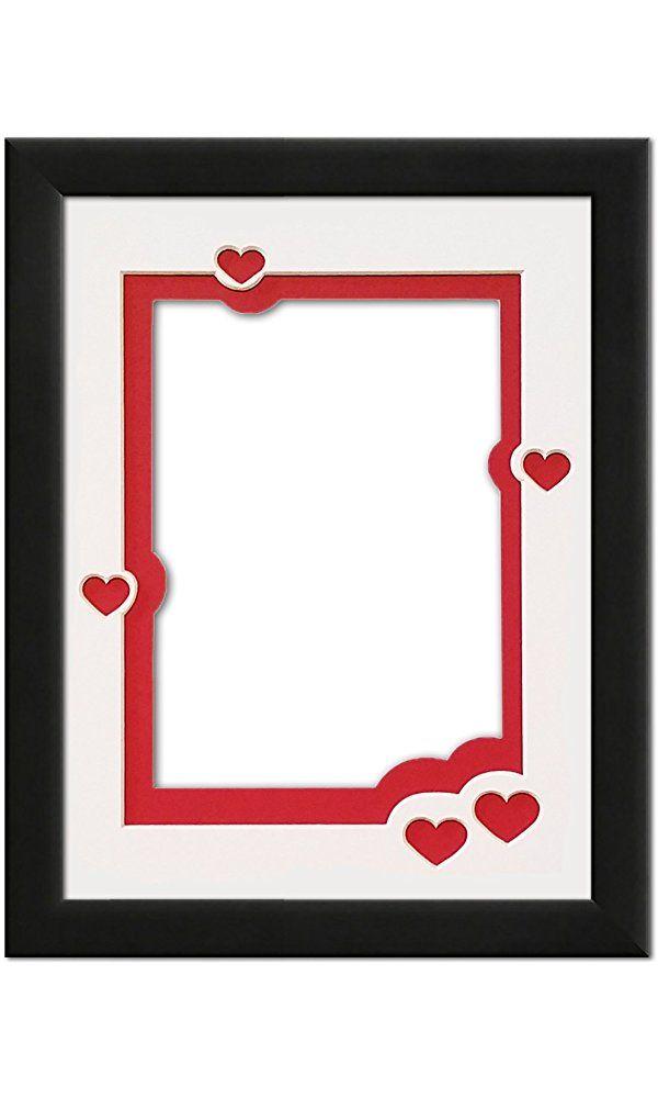 Free Clip Art Borders - Red - Black - Frames |Love Black Frame