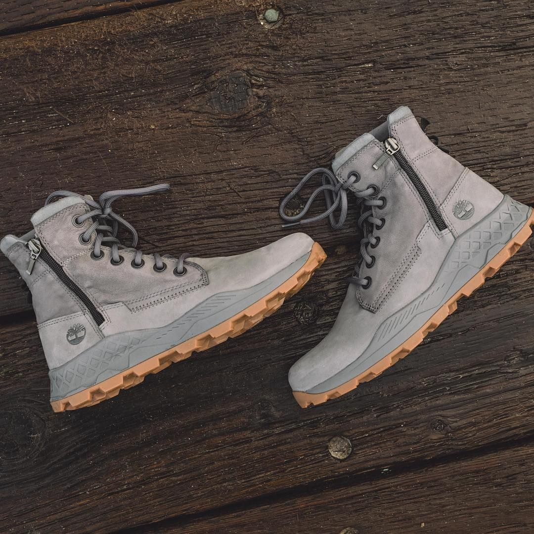 Plastic shoes, Timberland boots