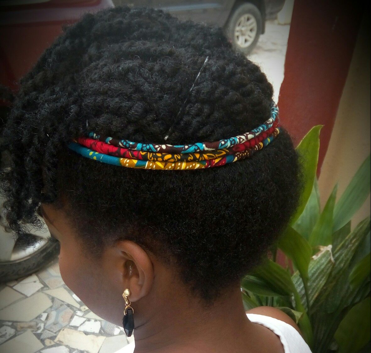 Coiffure Afro Bandeau Ankara Hair Bands Coiffe Cheveux Coiffure Cheveux