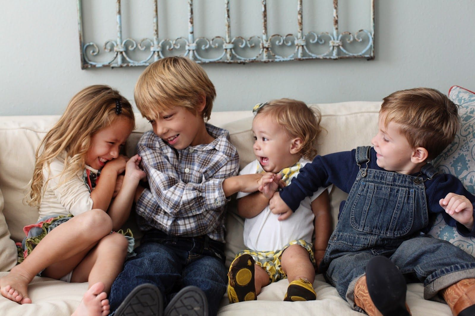 Chip Joanna Gaines And Kids We Are Filming A Pilot Chip And