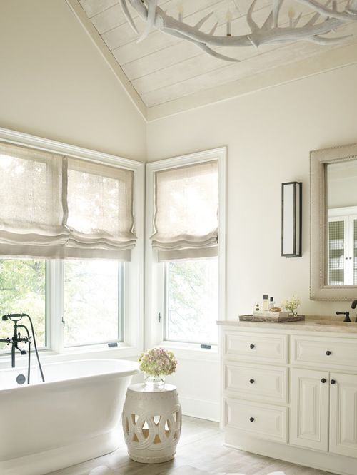 china white by benjamin moore painted brick in 2019 bathroom home interior design. Black Bedroom Furniture Sets. Home Design Ideas