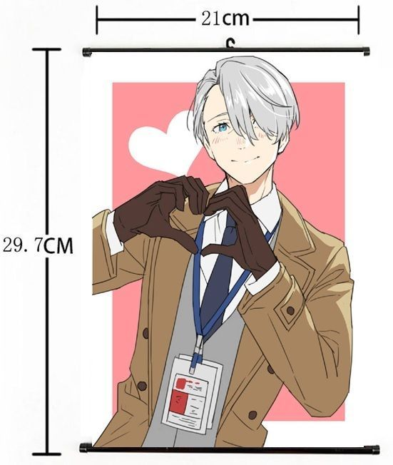 Details about Hot Japan Anime Yuri!!! on Ice Poster Wall Scroll Home Decor 8