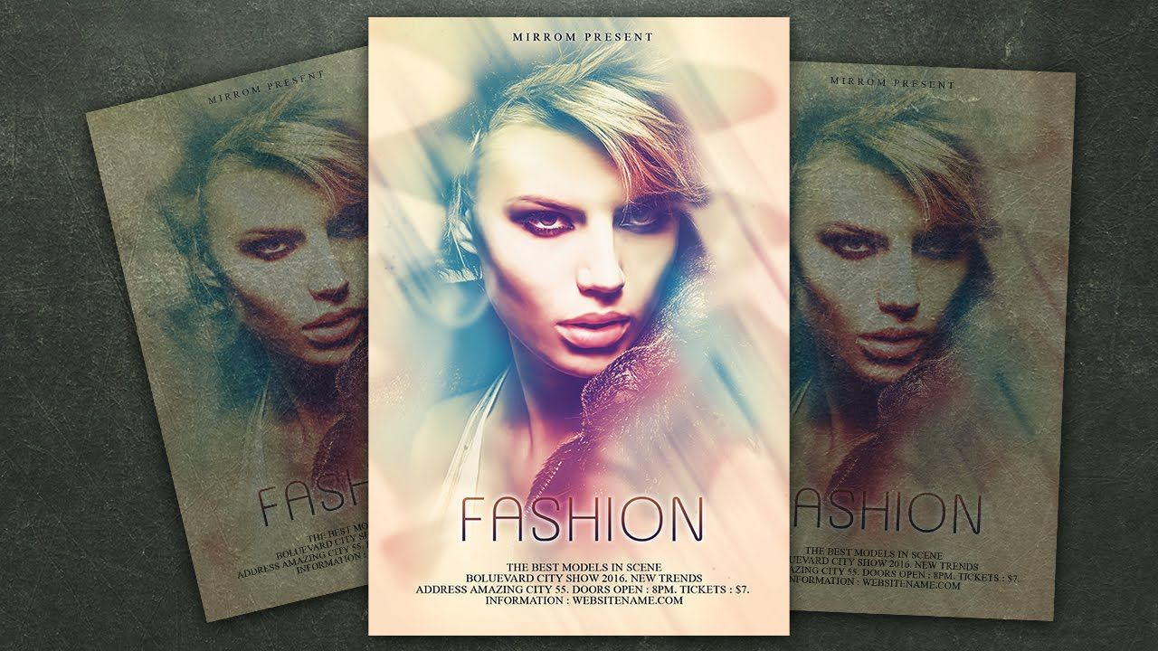 Design a fashion flyer photoshop tutorial photoshop tutorial design a fashion flyer photoshop tutorial baditri Image collections