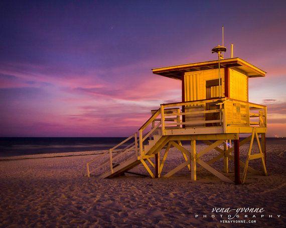 Wall Art Home Decor Lifeguard Shack Ocean Gulf Of Mexico Etsy Gallery Print Okaloosa Island Ocean Waves
