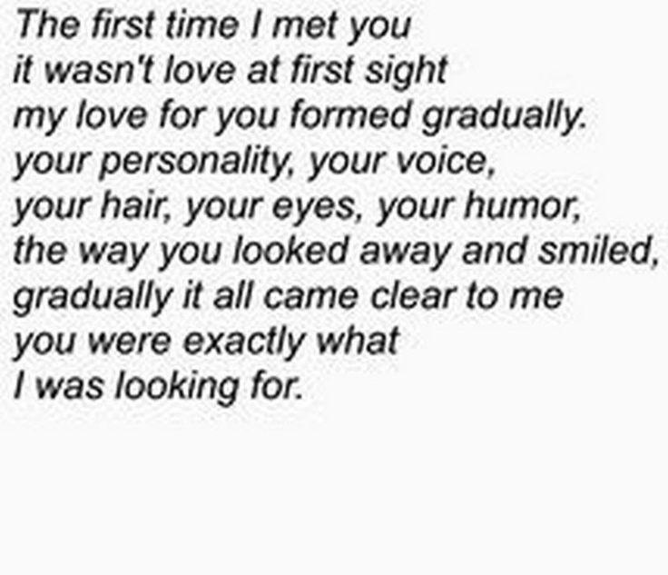 """45 Crush Quotes - """"Das erste Mal, als ich dich traf, war es nicht auf den ersten Blick ... - Anna Kirchner - #als #auf #Blick #Crush #den #dich #erste #ersten #es #ich #Mal #nicht #quotDas #quotes #traf #war"""
