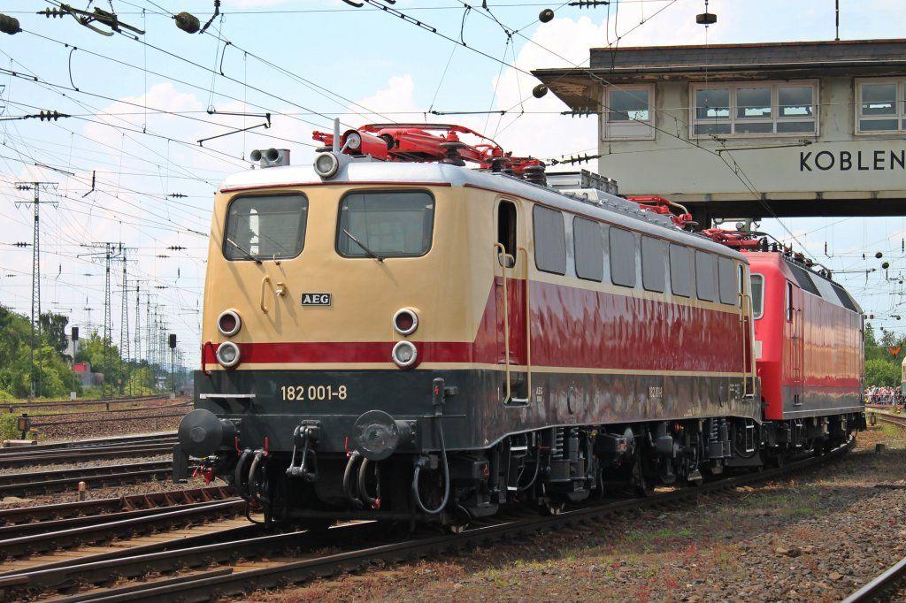 Br 182 Aeg Eisenbahn Lokomotive Bundesbahn