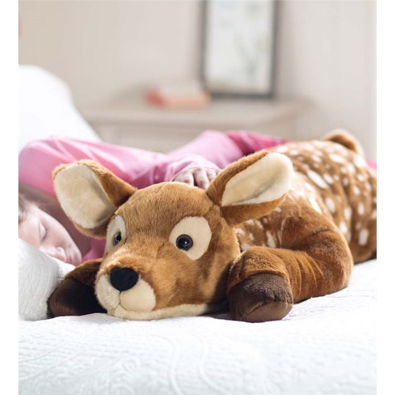 Fuzzy Spotted Fawn Body Pillow Gifts For Pets Amp Pet