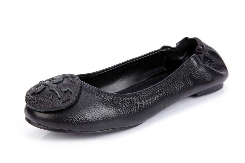 Love it!!Tory Burch Classic Black Flats!!!