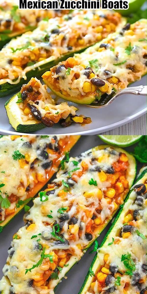 Mexican Zucchini Boats