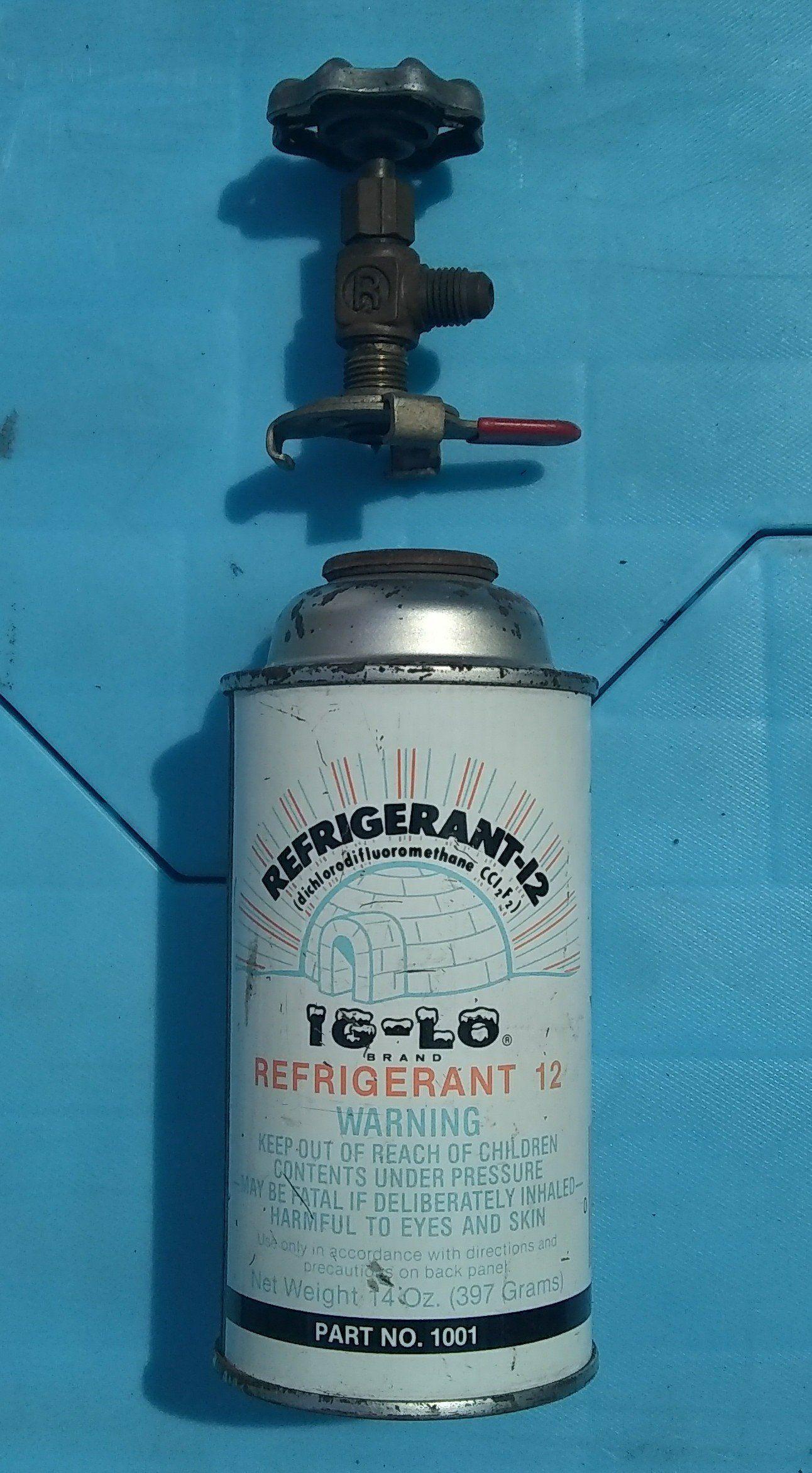 Refrigerant freon R12 Ig lo freon Iglo auto car air