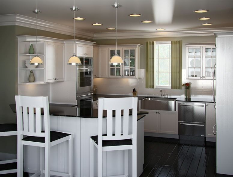 U Shaped Kitchen Island Designs