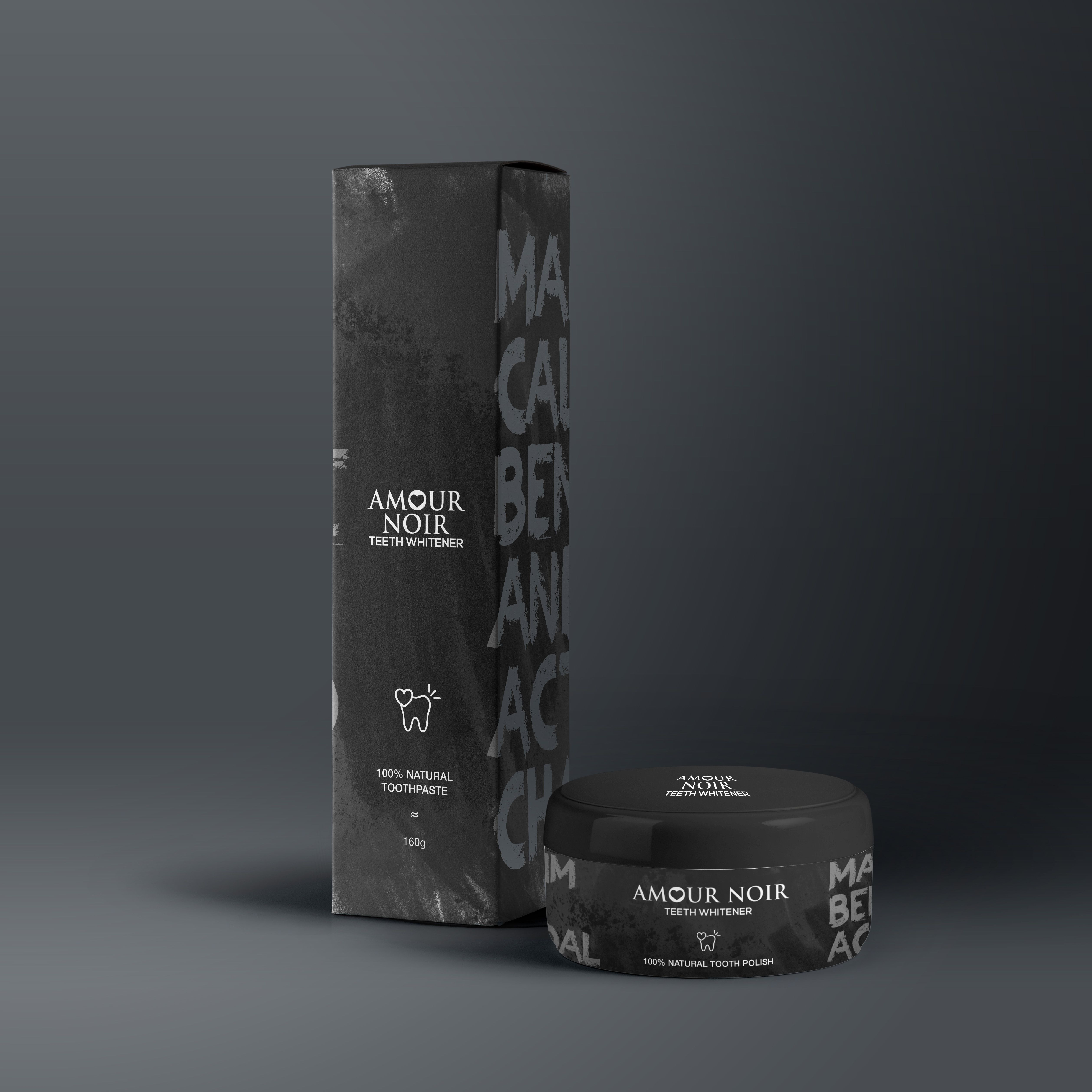 Our Concept For British Charcoal Toothpaste Brand Amour