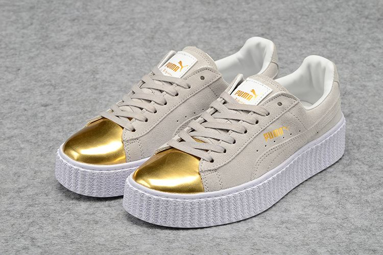 puma creepers femme blanche