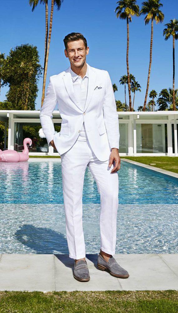 Perry Ellis Men S Linen Suit Jacket Reviews Blazers Sport
