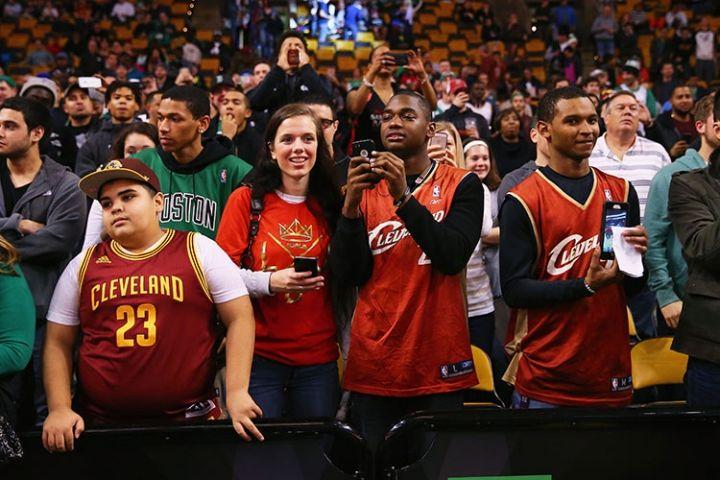 Cleveland Cavaliers At Boston Celtics December 15 2015 Cleveland Cavaliers Boston Celtics Cleveland Cavaliers Cleveland Cavs