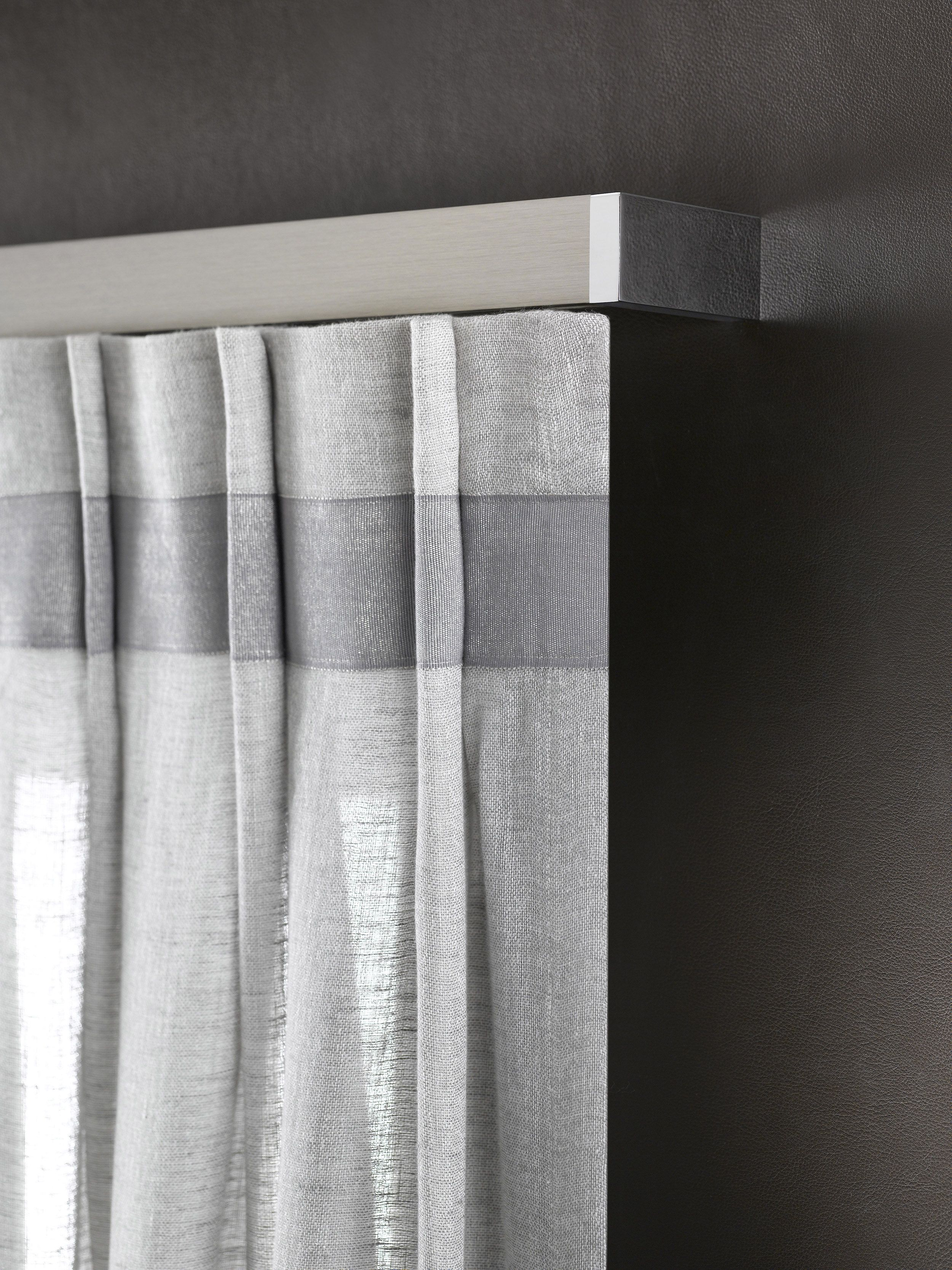 Arte - Detail curtain railing #inspiratie #inspirational #ideeën ...