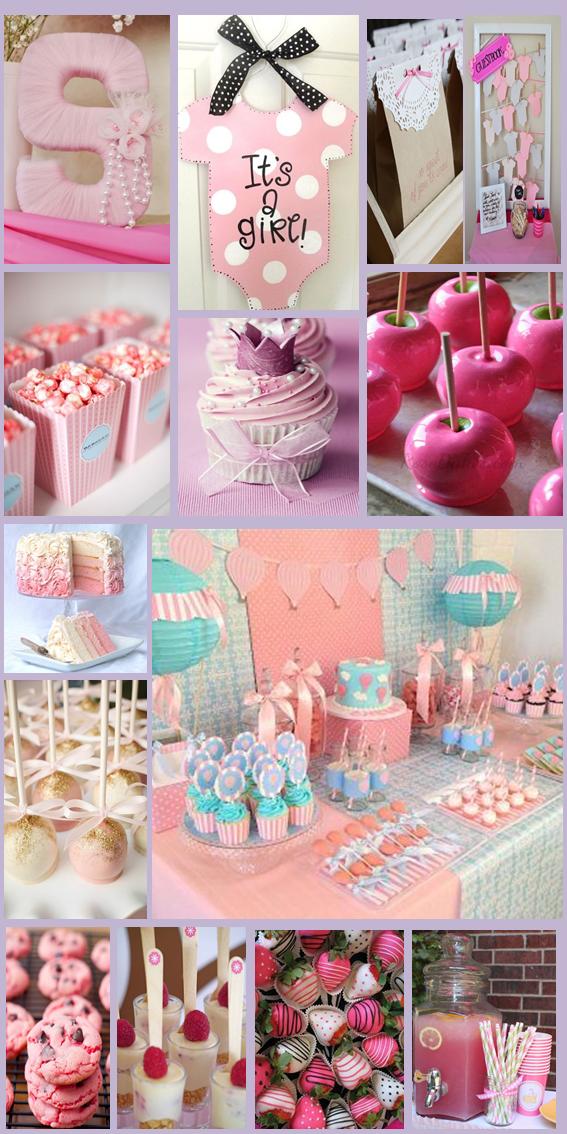 inspiraci n candy bar pink dessert bar baby girl baby On candy bar baby shower nina