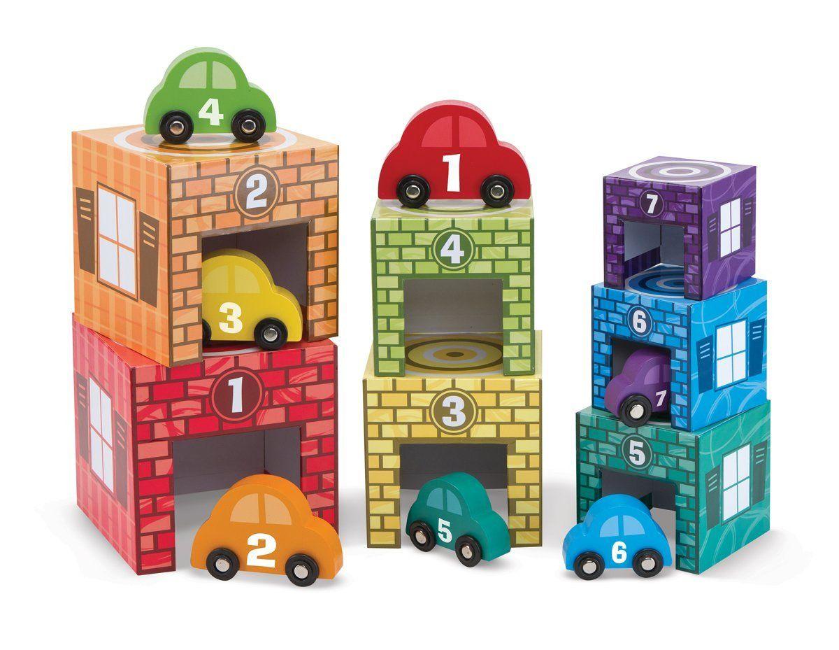 Educational car toys  Nesting u Sorting Cars u Garages   per set  New For Winter