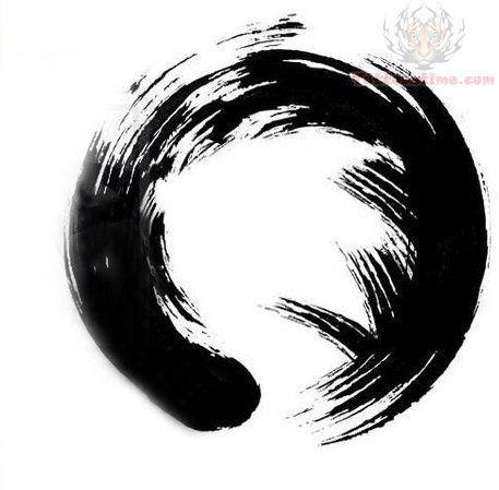 15 Zen Circle Tattoos Design Ideas