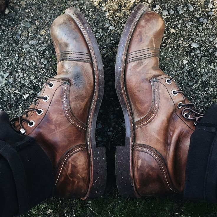 Source: jnblee | Army shoes, Red wing