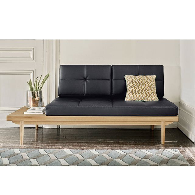 daybed quilda la redoute interieurs shopping list pinterest structure en bois style. Black Bedroom Furniture Sets. Home Design Ideas