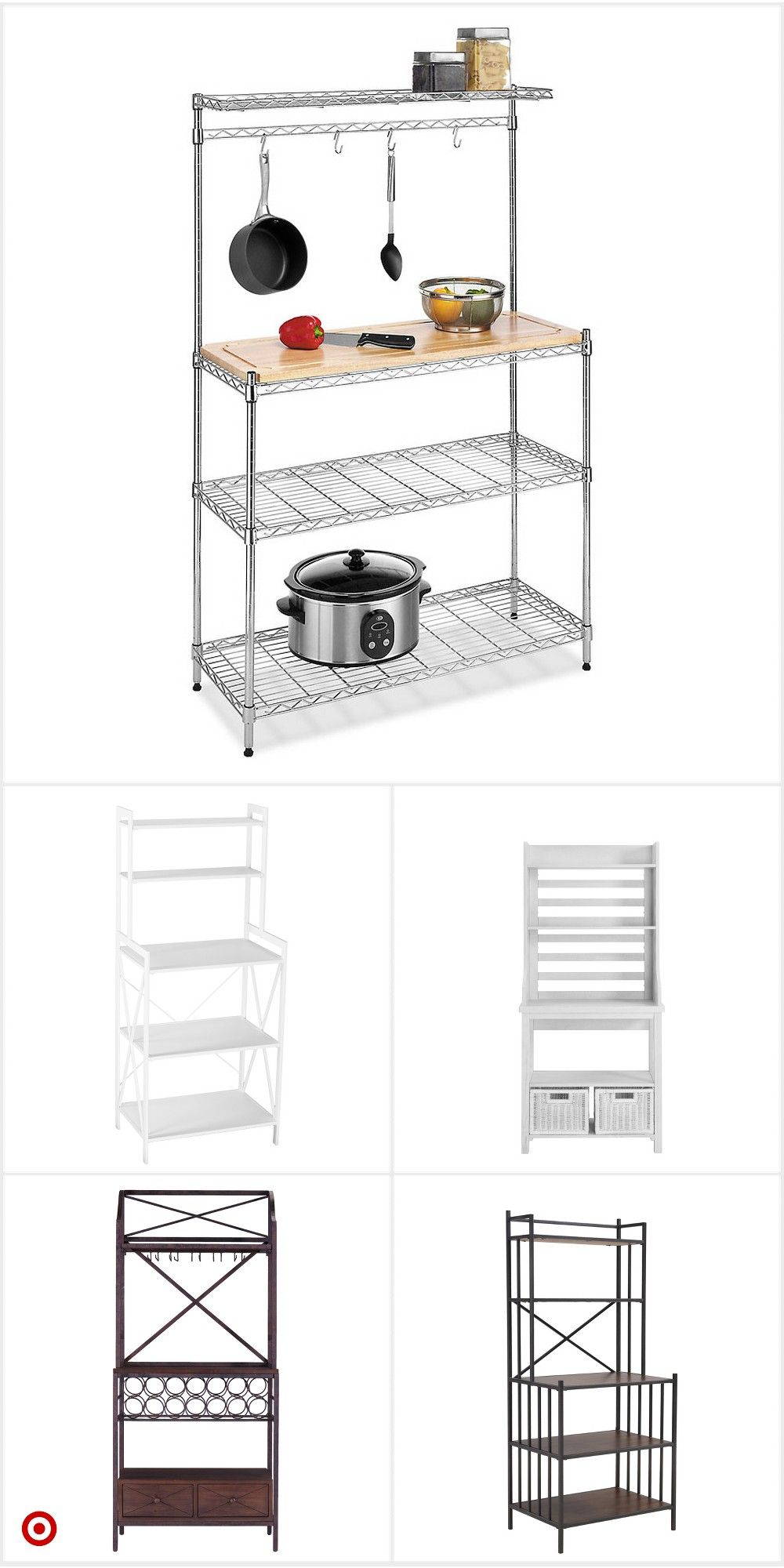 Shop Target For Baker Rack You Will Love At Great Low Prices Free Shipping On Orders Of 35 Or Free Same Day Pick Up I Pick Up In Store Shop Target Storage