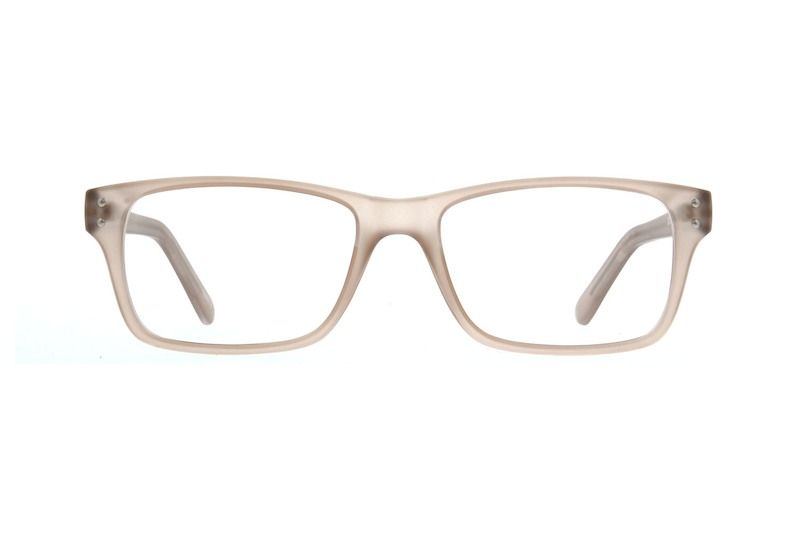 edc37898c8a Zenni Rectangle Prescription Eyeglasses Brown Other Plastic 124515 ...