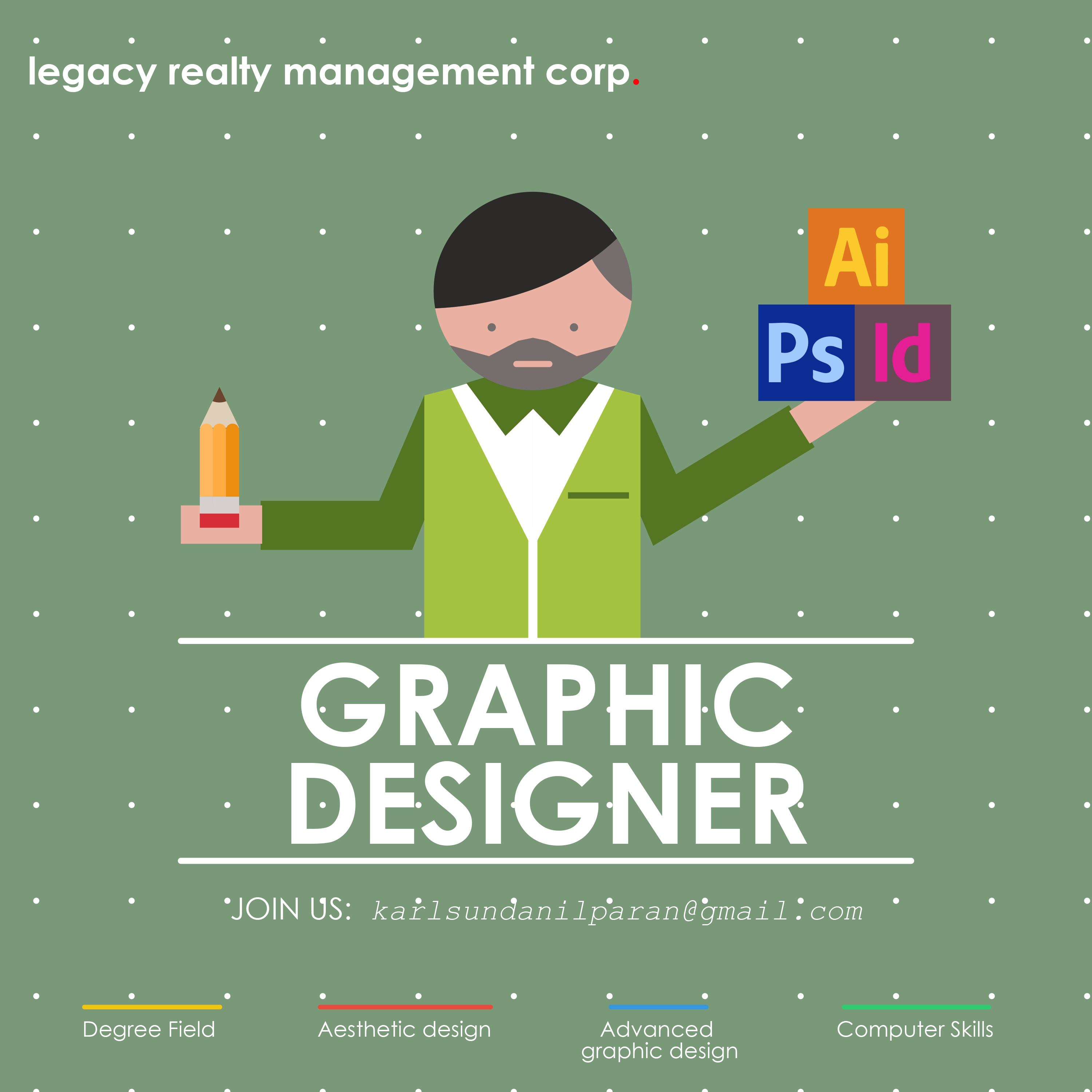 Hiring Graphic Designer poster Job poster, Graphic