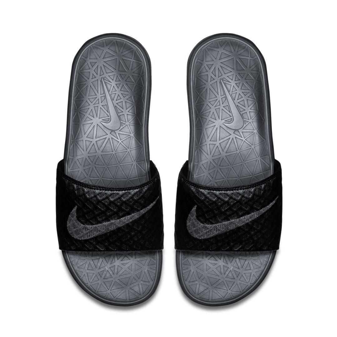 1ca12ecf250 Nike Benassi Solarsoft 2 Men's Slide Size 17 (Black) in 2019 ...