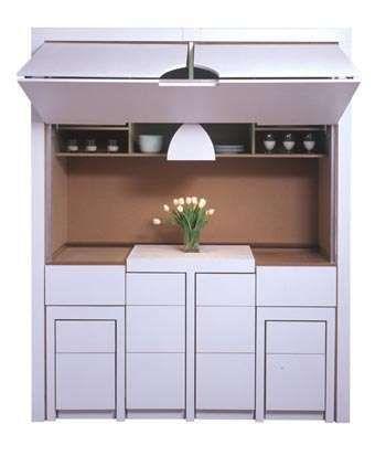 Secret Compartment Cabinets   Dorm room kitchen, Flatpack ...