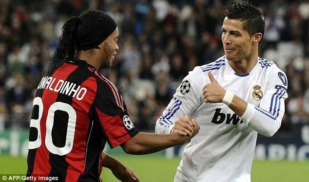 Ronaldinho Cr7 Ronaldinho Ronaldo Cristiano Ronaldo